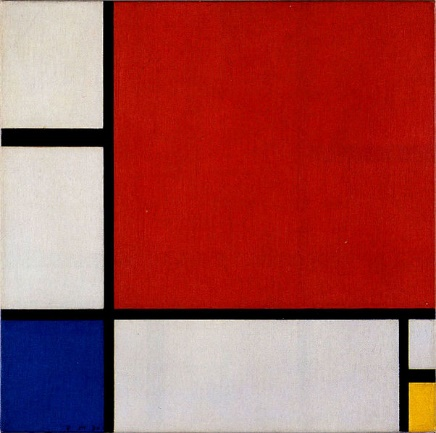 "Pieter Cornelis ""Piet"" Mondrian's ""Composition II in Red, Blue, and Yellow"""