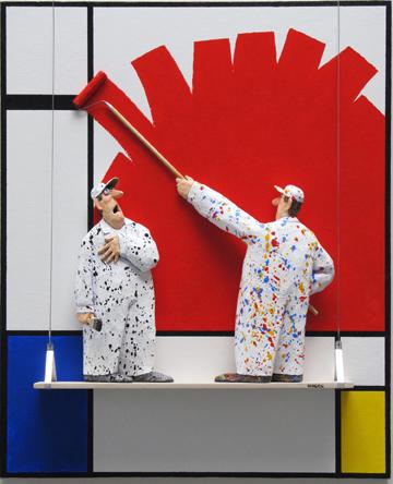 Hansen's Homage to Mondrian