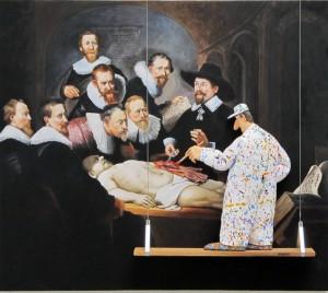 Hansen's Homage to the artist