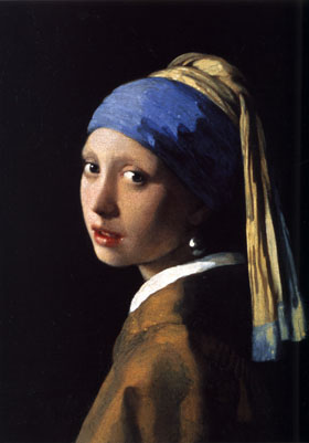 "Johannes Vermeer's ""The Girl with The Pearl Earring"""
