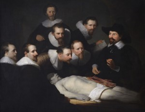 "Unknown (After Rembrandt) ""The Anatomy Lesson of Dr. Tulp"""