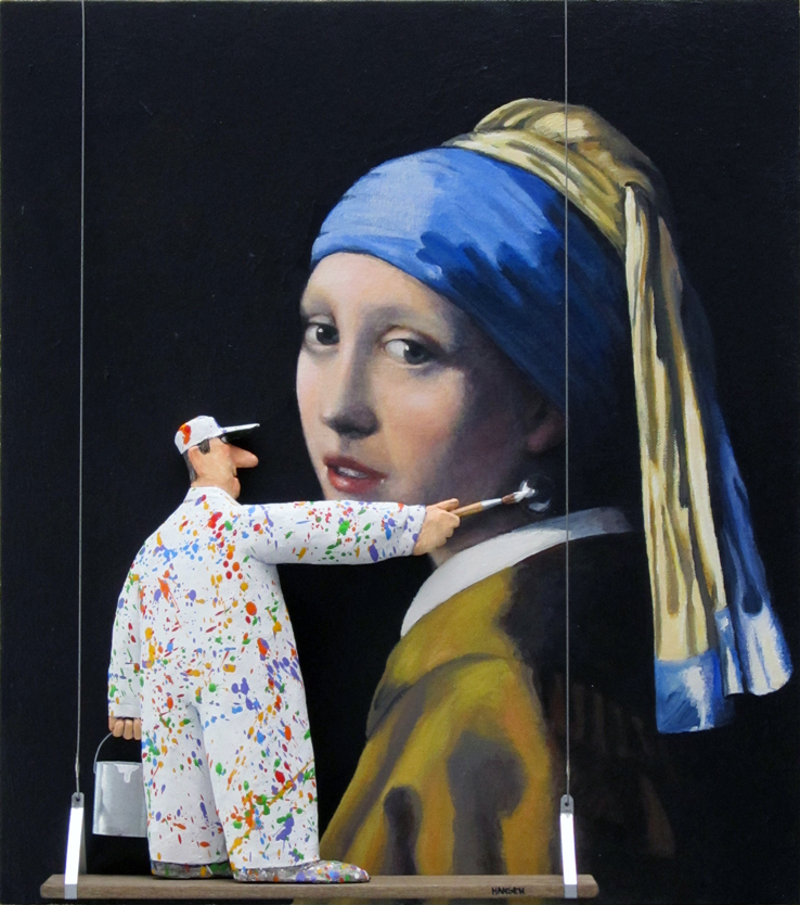 Hansen's Homage to Vermeer