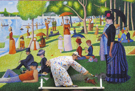 Hansen's Homage to Seurat