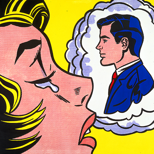 "Roy Lichtenstein's ""Thinking of Him"""
