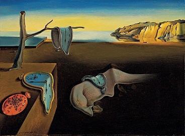 "Salvador Dali's ""Persistence of Memory"""