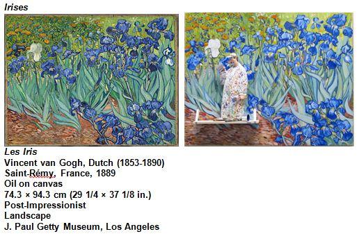 Les Iris Vincent van Gogh