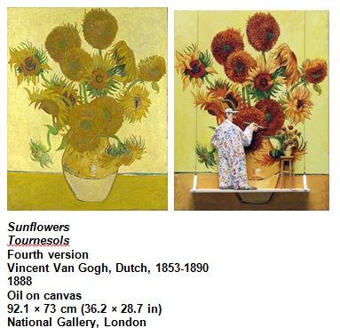 Sunflowers Tournesols