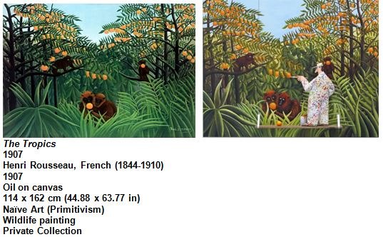 The Tropics 1907 Henri Rousseau