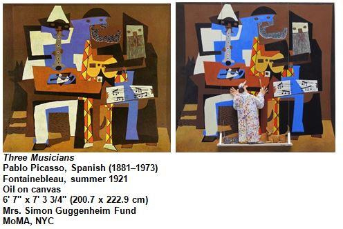 Three Musicians Pablo Picasso