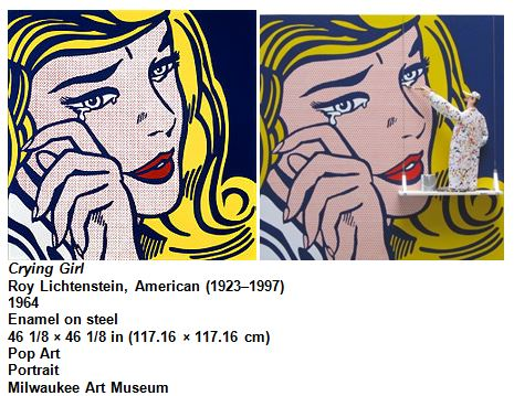 Crying Girl Roy Lichtenstein