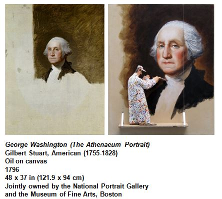 George Washington (The Athenaeum Portrait) Gilbert Stuart