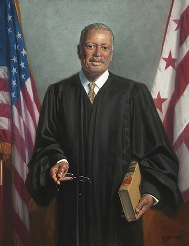 Judge Emmet Sullivan, 44×34, collection of the U.S. District Court for the District of Columbia, Washington, D.C.
