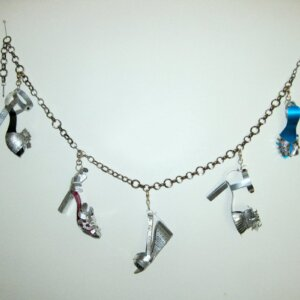 Charmed (Hanging Charmed Bracelet) by Joyce Zipperer