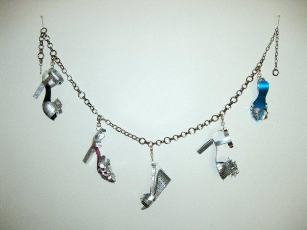 Charmed (Hanging Charmed Bracelet) by Joyce Zipperer